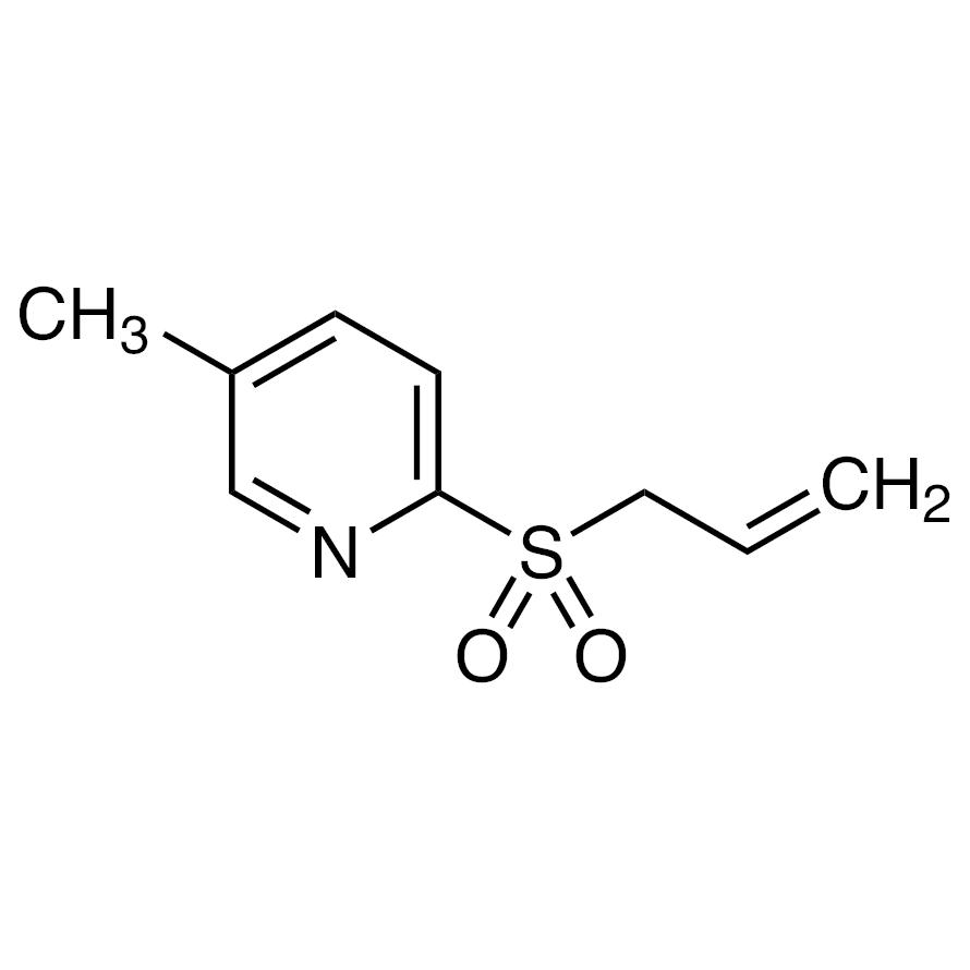 2-(Allylsulfonyl)-5-methylpyridine