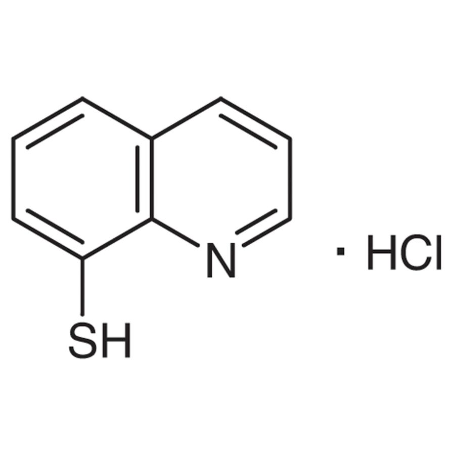 8-Mercaptoquinoline Hydrochloride [Extraction-spectrophotometric and fluorimetric reagent for soft metals]