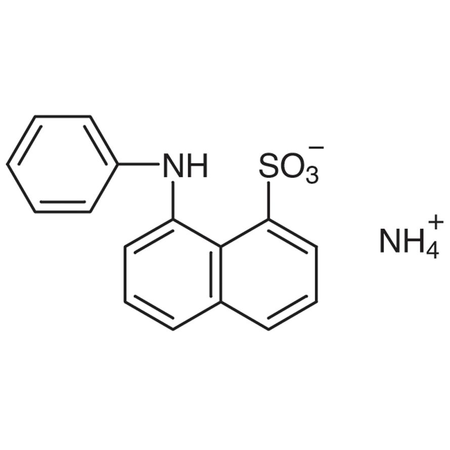 ANS-NH4 (=Ammonium 8-Anilino-1-naphthalenesulfonate) [Hydrophobic fluorescent probe]