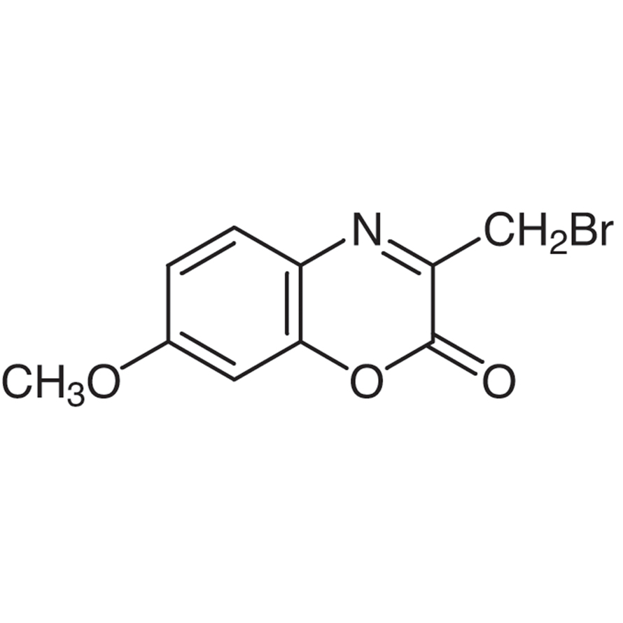 3-Bromomethyl-7-methoxy-1,4-benzoxazin-2-one [for HPLC Labeling]