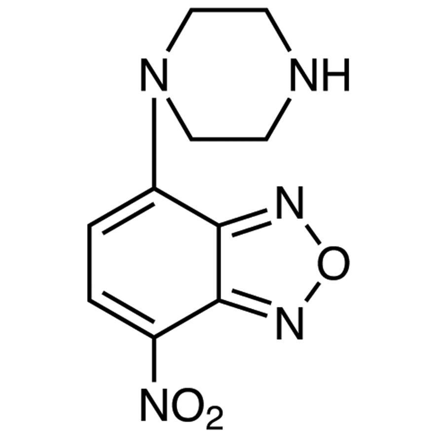 NBD-PZ (=4-Nitro-7-piperazino-2,1,3-benzoxadiazole) [for HPLC Labeling]