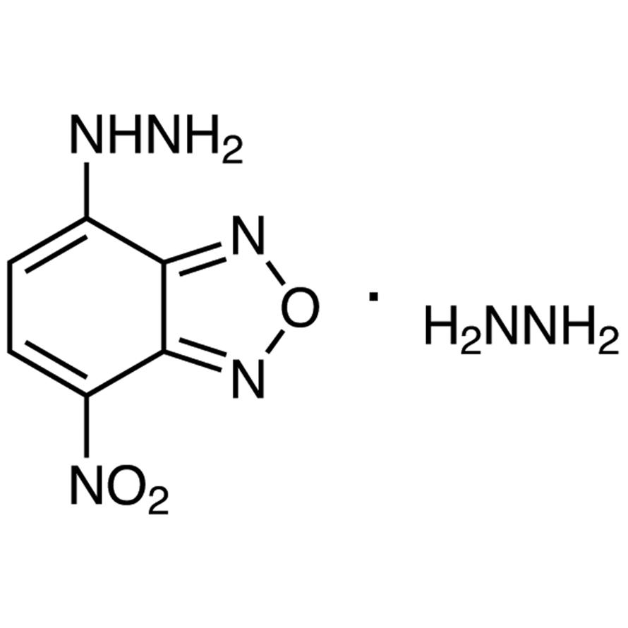 NBD-H (=4-Hydrazino-7-nitro-2,1,3-benzoxadiazole Hydrazine) [for HPLC Labeling]