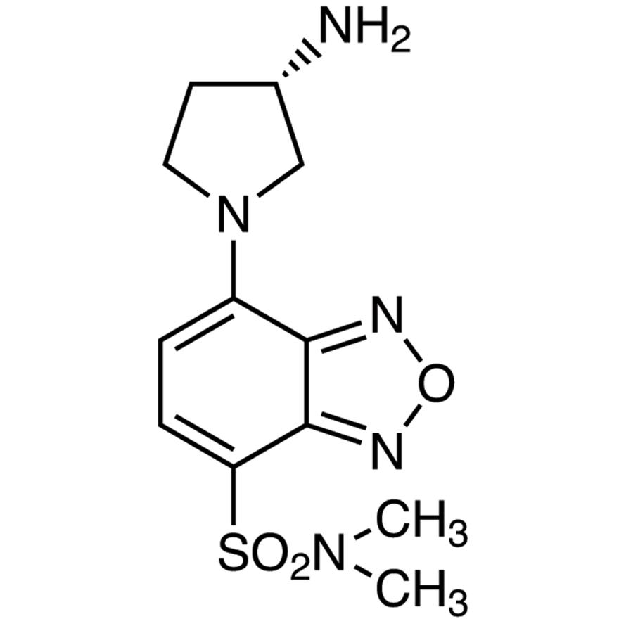 (S)-(+)-DBD-APy [=(S)-(+)-4-(N,N-Dimethylaminosulfonyl)-7-(3-aminopyrrolidin-1-yl)-2,1,3-benzoxadiazole] [HPLC Labeling Reagent for e.e. Determination]