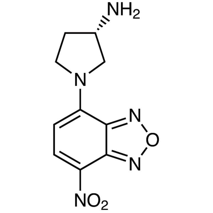 (S)-(+)-NBD-APy [=(S)-(+)-4-Nitro-7-(3-aminopyrrolidin-1-yl)-2,1,3-benzoxadiazole] [HPLC Labeling Reagent for e.e. Determination]