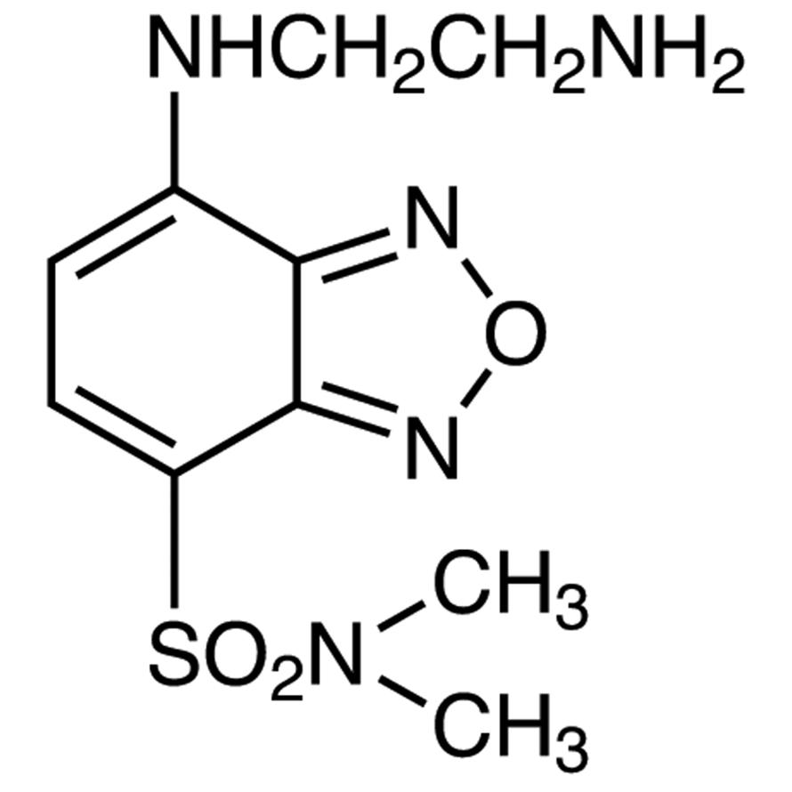 DBD-ED [=4-(N,N-Dimethylaminosulfonyl)-7-(2-aminoethylamino)-2,1,3-benzoxadiazole] [for HPLC Labeling]