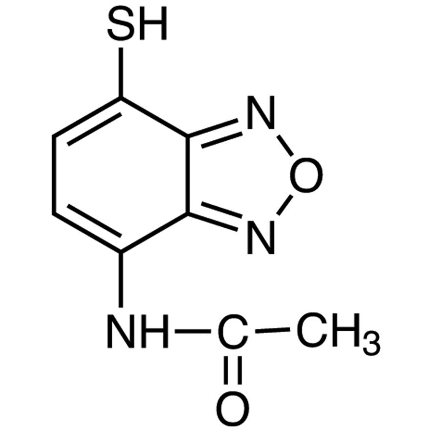 AABD-SH (=4-Acetamido-7-mercapto-2,1,3-benzoxadiazole) [for HPLC Labeling]