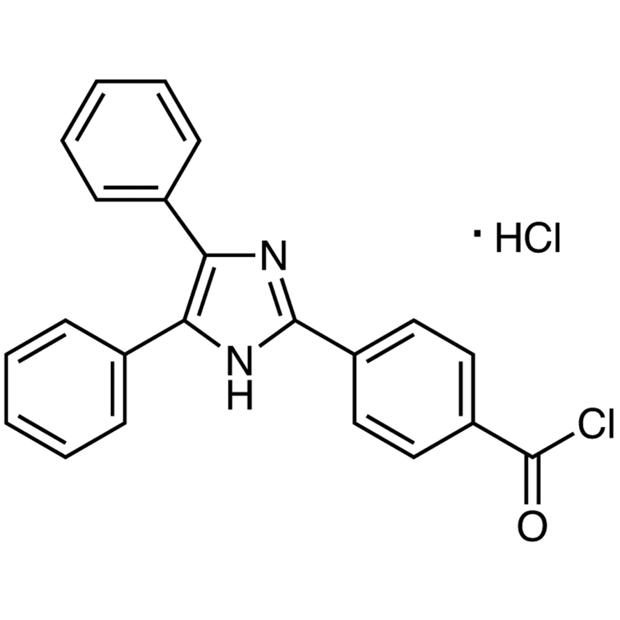 4-(4,5-Diphenyl-1H-imidazol-2-yl)benzoyl Chloride Hydrochloride [for HPLC Labeling]