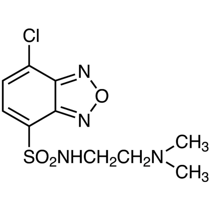 DAABD-Cl [=4-[2-(Dimethylamino)ethylaminosulfonyl]-7-chloro-2,1,3-benzoxadiazole] [for Proteome Analysis]