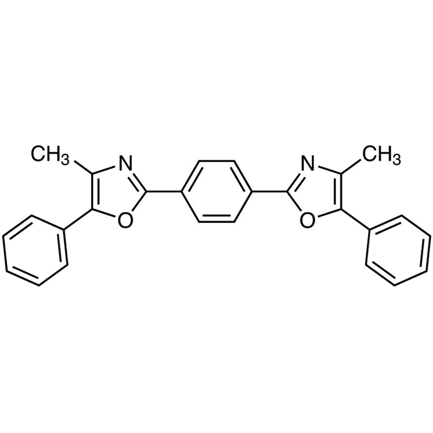 1,4-Bis[2-(4-methyl-5-phenyloxazolyl)]benzene [for scintillation spectrometry]