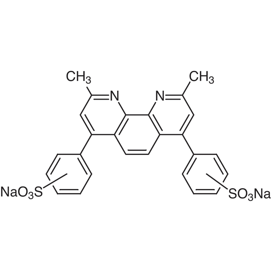 Disodium Bathocuproinedisulfonate [for Determination of Cu in Blood]