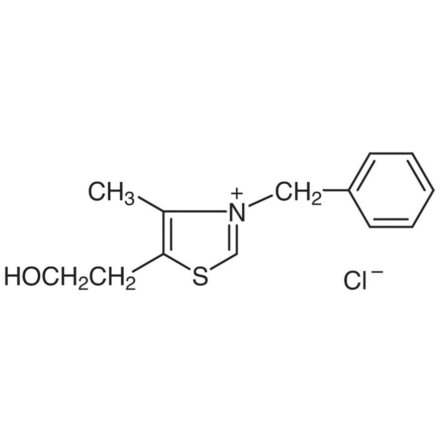 3-Benzyl-5-(2-hydroxyethyl)-4-methylthiazolium Chloride