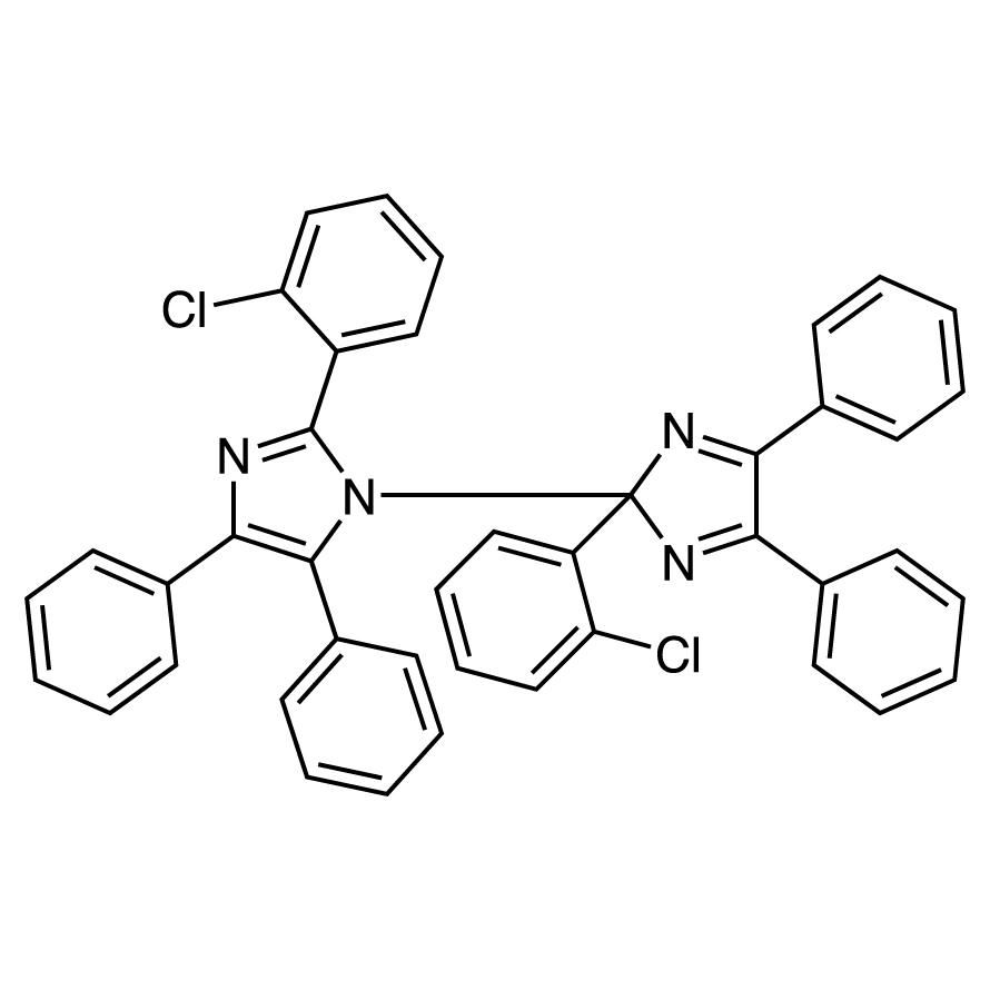 2,2'-Bis(2-chlorophenyl)-4,4',5,5'-tetraphenyl-1,2'-biimidazole [Photopolymerization Initiator]
