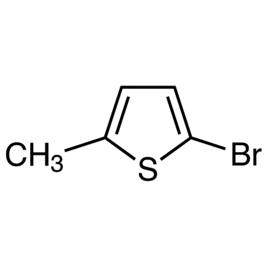 2-Bromo-5-methylthiophene (stabilized with Copper chip + NaHCO3)