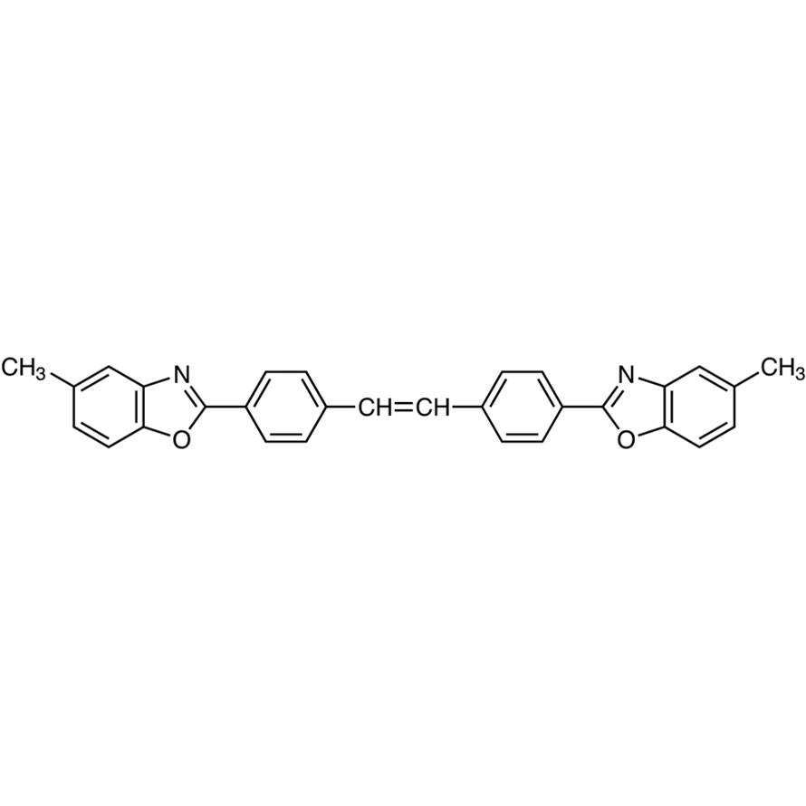 4,4'-Bis(5-methyl-2-benzoxazolyl)stilbene
