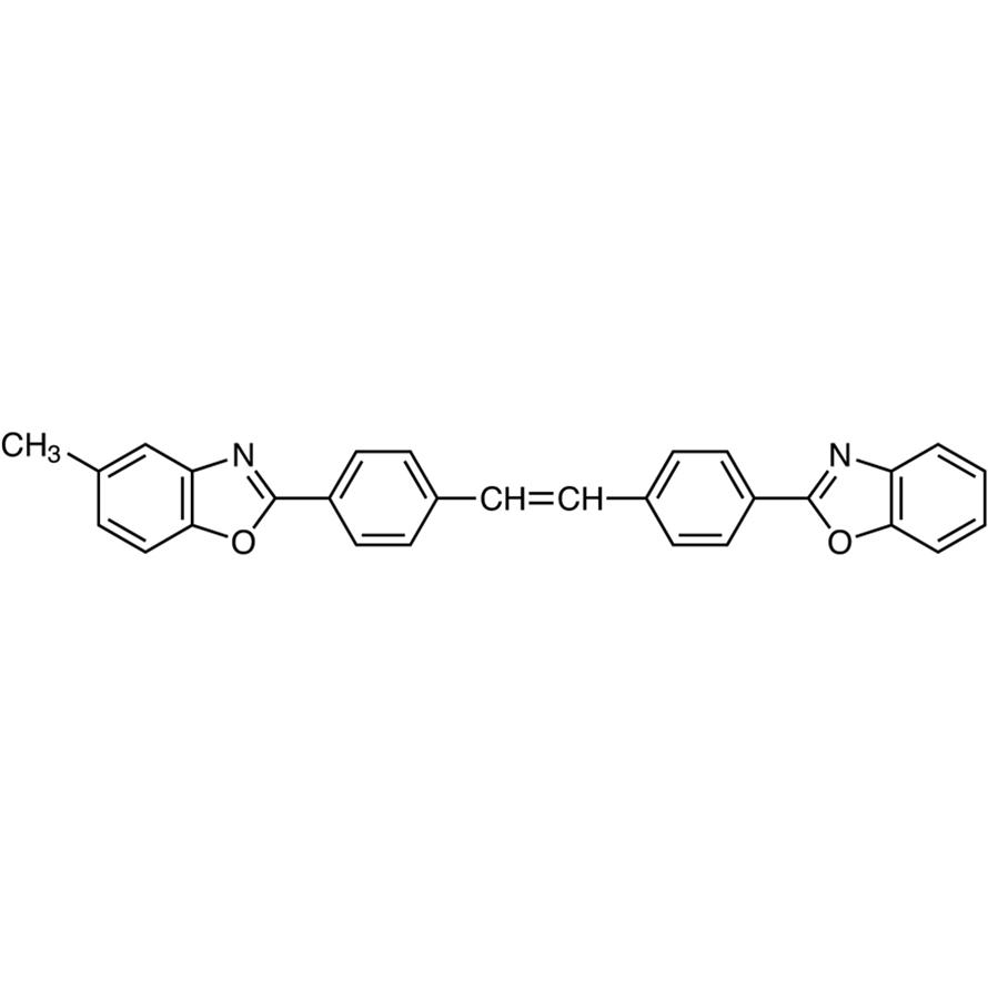 4-(2-Benzoxazolyl)-4'-(5-methyl-2-benzoxazolyl)stilbene