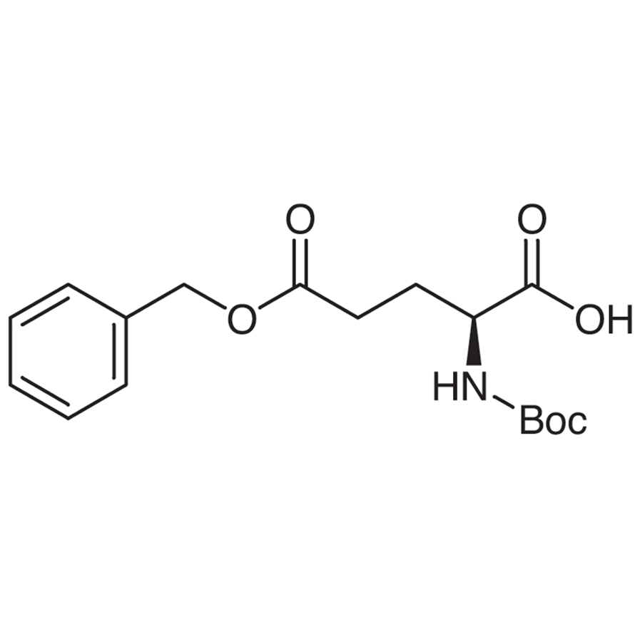 5-Benzyl N-(tert-Butoxycarbonyl)-L-glutamate