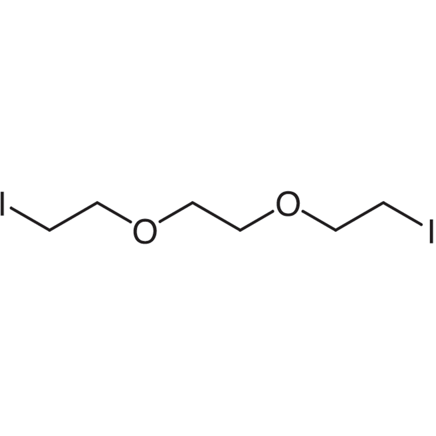 1,2-Bis(2-iodoethoxy)ethane (stabilized with Copper chip)