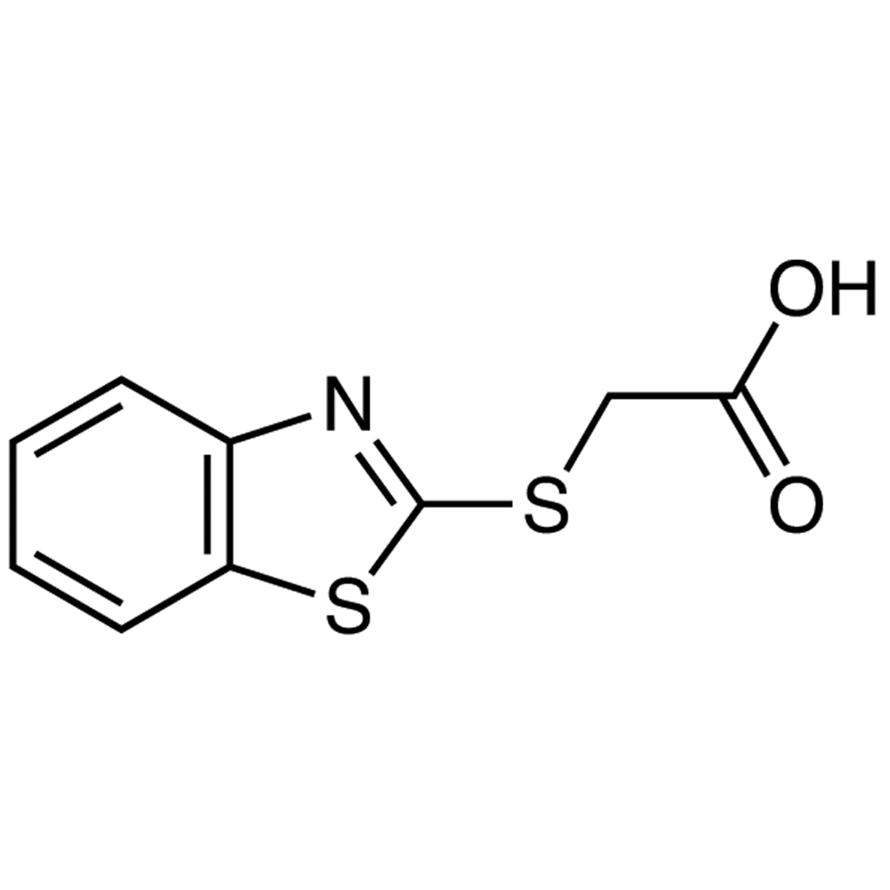 (2-Benzothiazolylthio)acetic Acid
