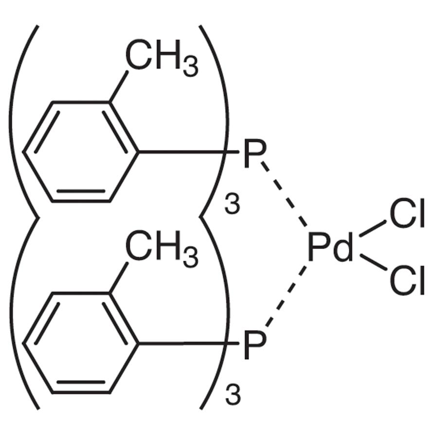 Bis(tri-o-tolylphosphine)palladium(II) Dichloride