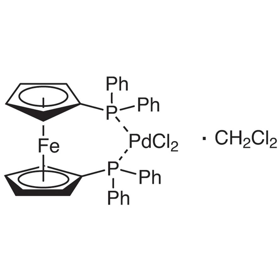 [1,1'-Bis(diphenylphosphino)ferrocene]palladium(II) Dichloride Dichloromethane Adduct