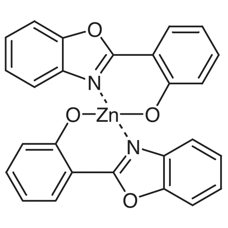 Bis[2-(2-benzoxazolyl)phenolato]zinc(II)