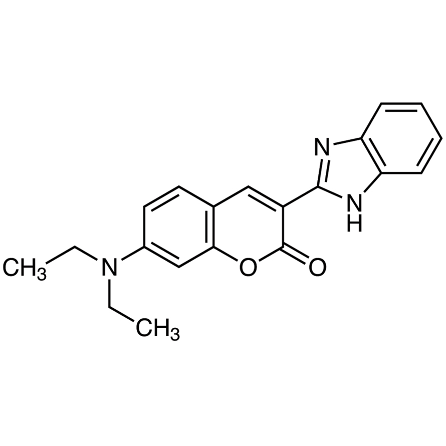3-(2-Benzimidazolyl)-7-(diethylamino)coumarin