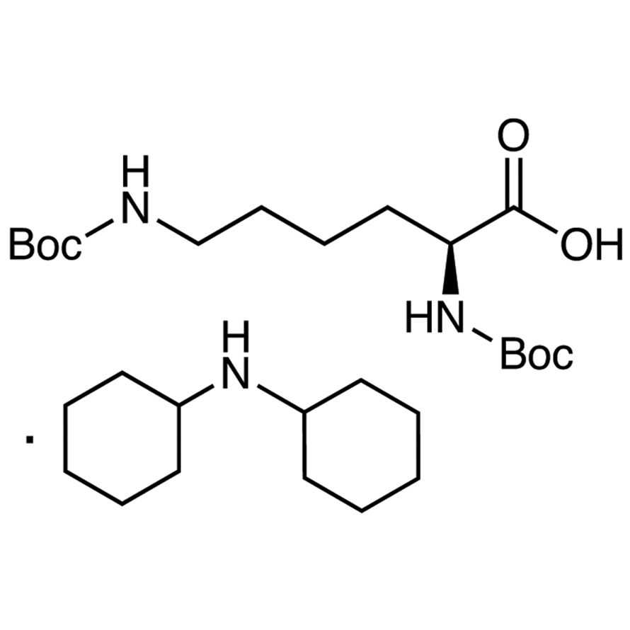 Nα,Nε-Bis(tert-butoxycarbonyl)-L-lysine Dicyclohexylammonium Salt