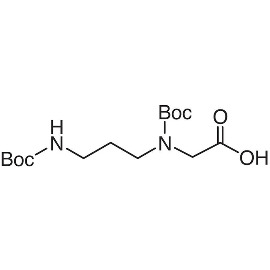 N-tert-Butoxycarbonyl-N-[3-(tert-butoxycarbonylamino)propyl]glycine