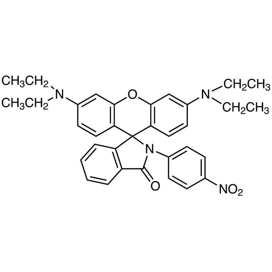 3',6'-Bis(diethylamino)-2-(4-nitrophenyl)spiro[isoindole-1,9'-xanthene]-3-one