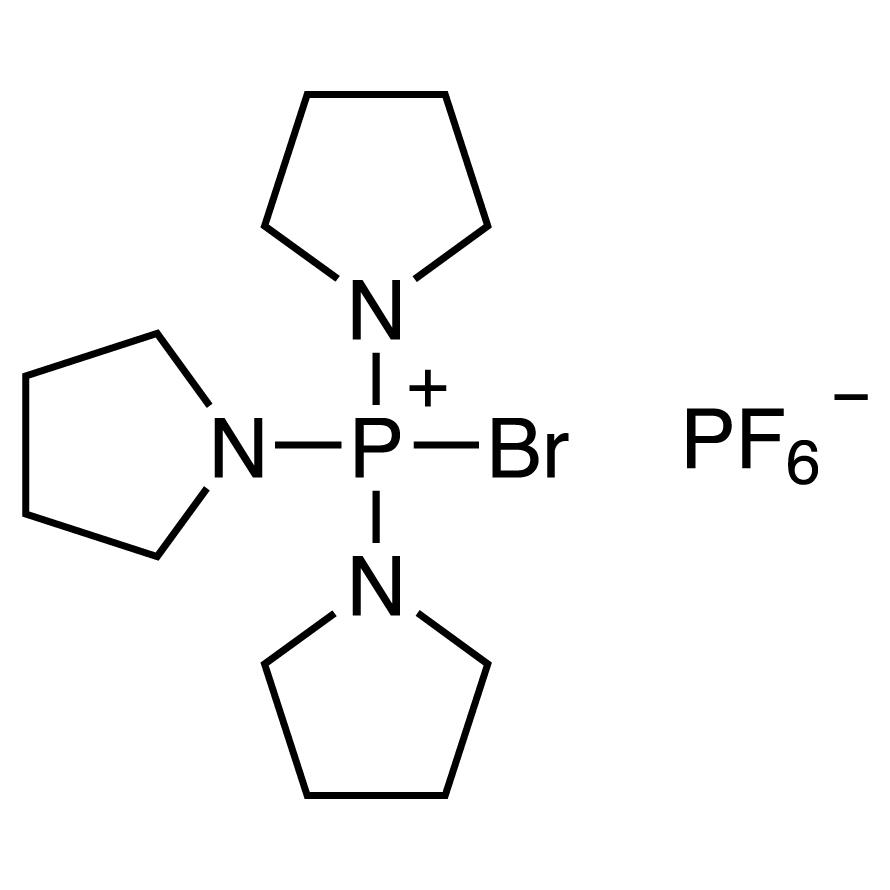 Bromotripyrrolidinophosphonium Hexafluorophosphate