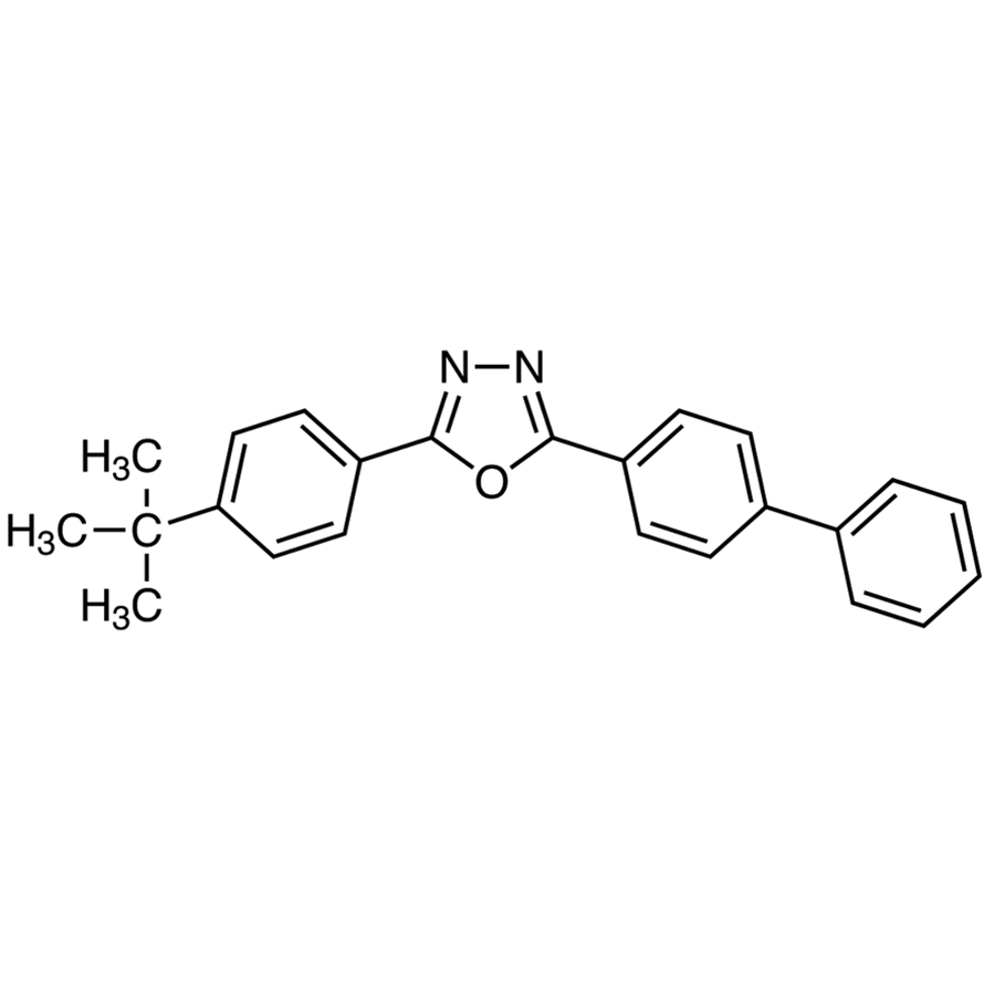 2-(4-tert-Butylphenyl)-5-(4-biphenylyl)-1,3,4-oxadiazole (purified by sublimation)