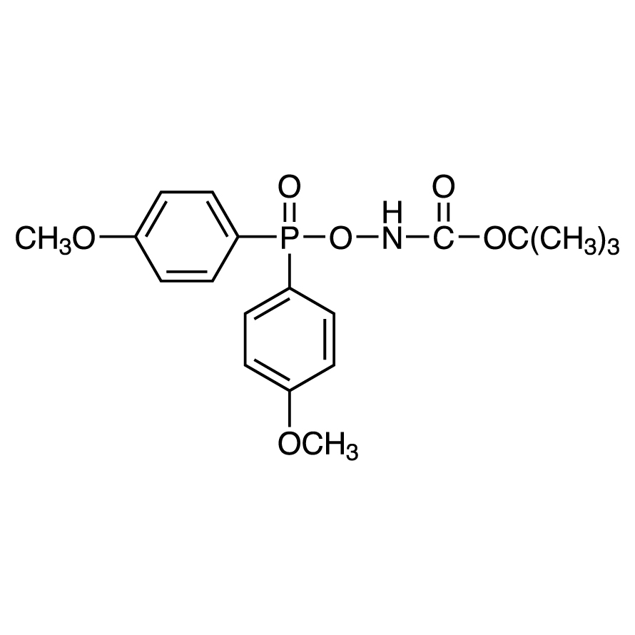 tert-Butyl [Bis(4-methoxyphenyl)phosphinyloxy]carbamate