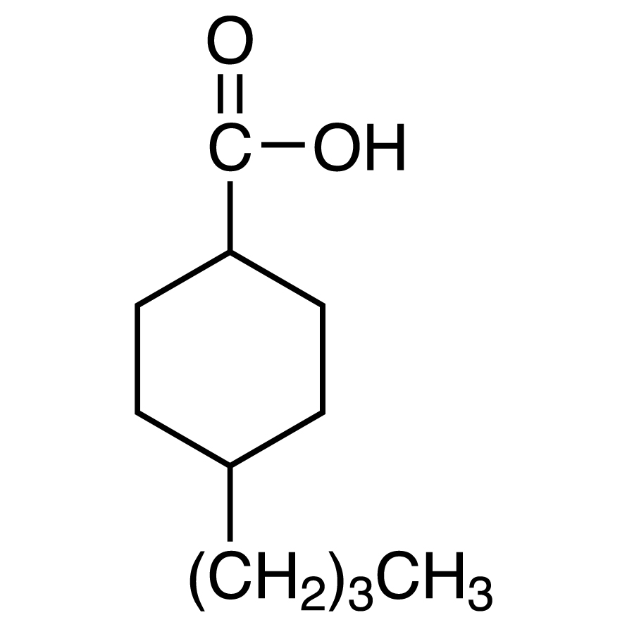 4-Butylcyclohexanecarboxylic Acid (cis- and trans- mixture)