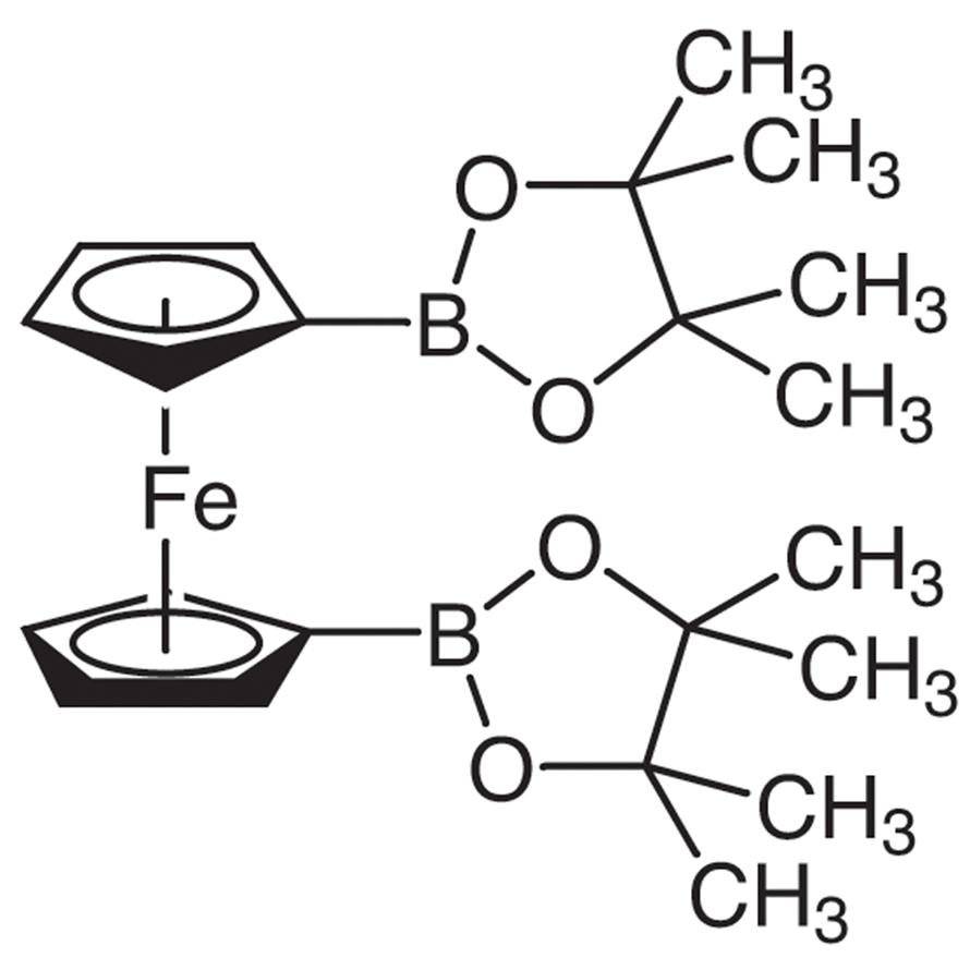 1,1'-Bis(4,4,5,5-tetramethyl-1,3,2-dioxaborolan-2-yl)ferrocene
