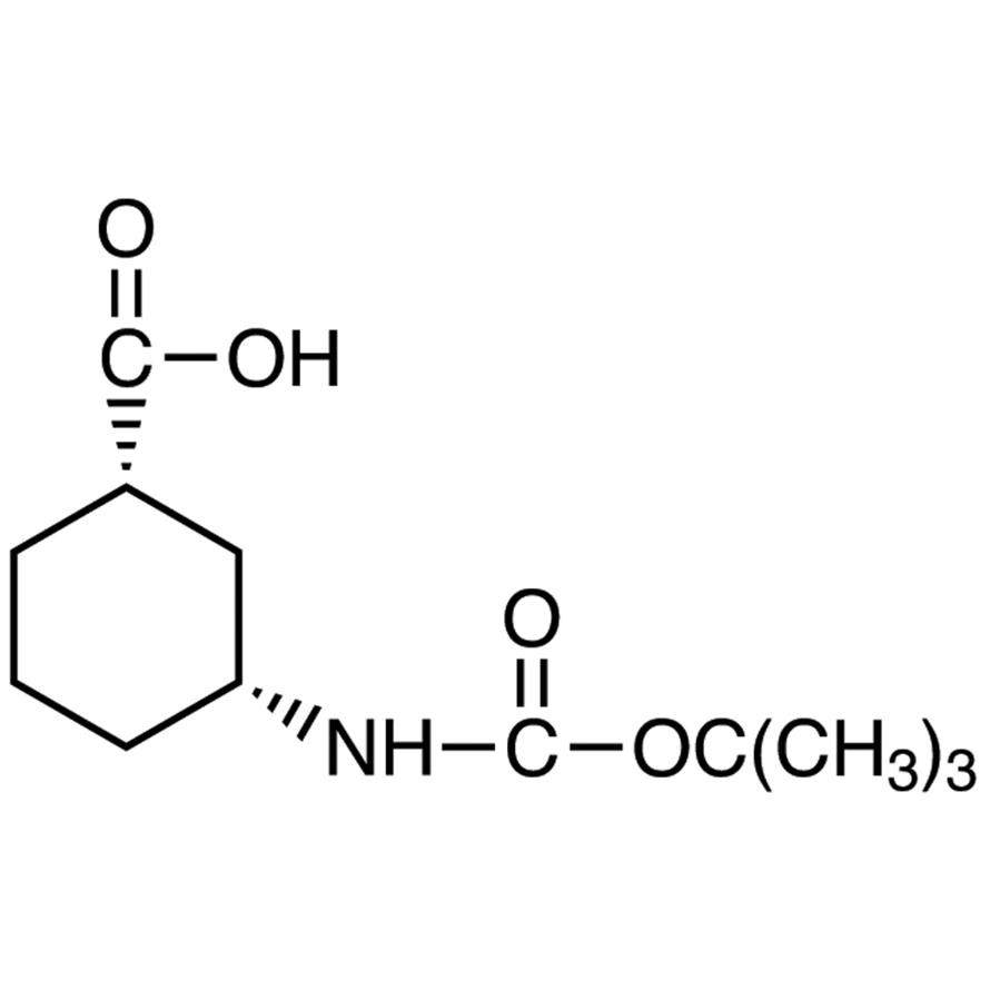 (1S,3R)-3-(tert-Butoxycarbonylamino)cyclohexanecarboxylic Acid