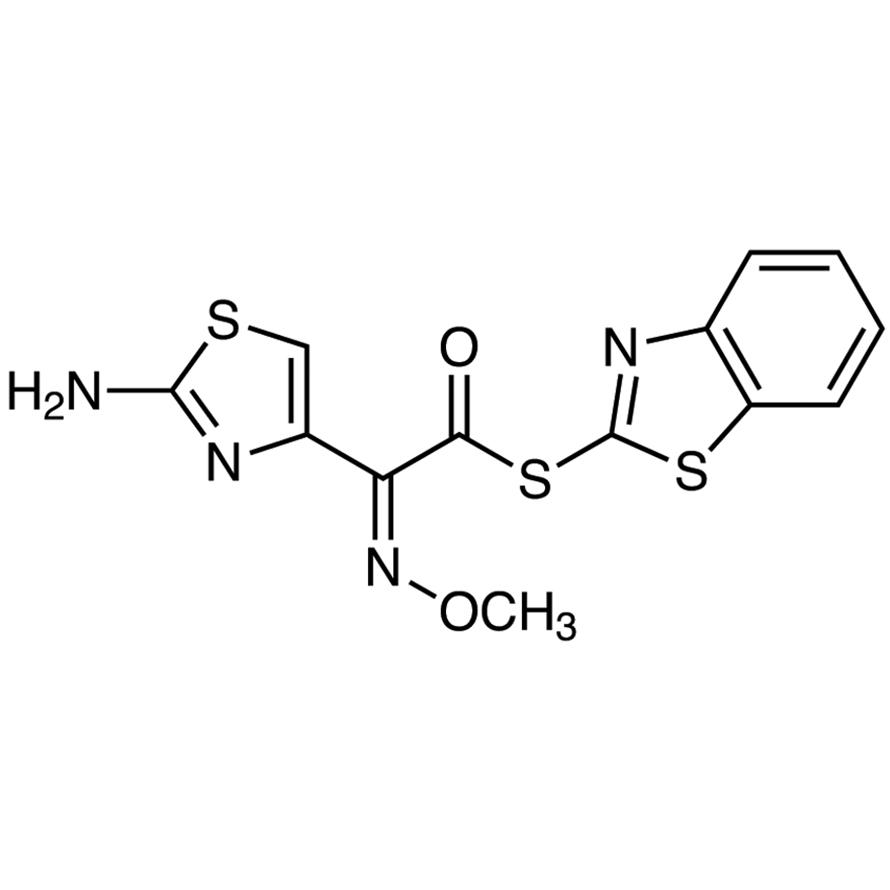 S-(2-Benzothiazolyl) (Z)-2-(2-Amino-4-thiazolyl)-2-(methoxyimino)thioacetate