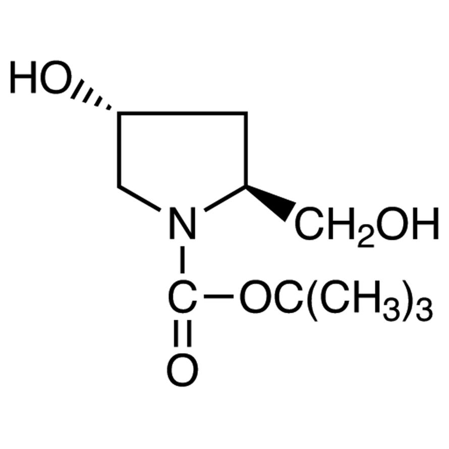 (2S,4R)-1-(tert-Butoxycarbonyl)-4-hydroxy-2-(hydroxymethyl)pyrrolidine