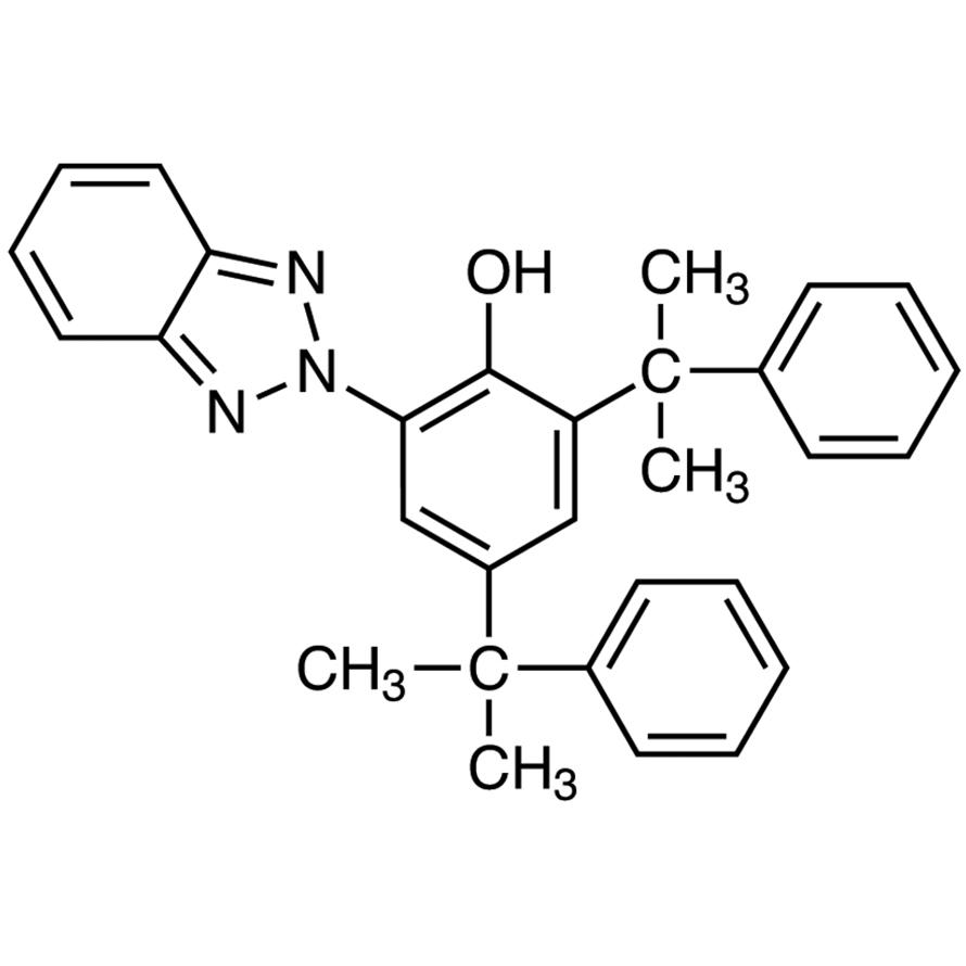 2-(2H-Benzotriazol-2-yl)-4,6-bis(1-methyl-1-phenylethyl)phenol