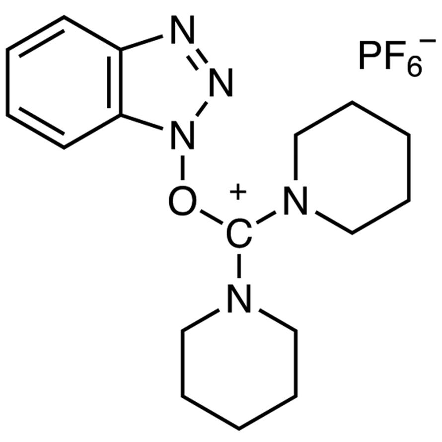 O-(Benzotriazol-1-yl)-N,N,N',N'-bis(pentamethylene)uronium Hexafluorophosphate