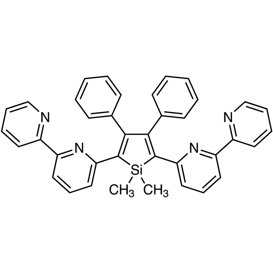 2,5-Bis(2,2'-bipyridin-6-yl)-1,1-dimethyl-3,4-diphenylsilole