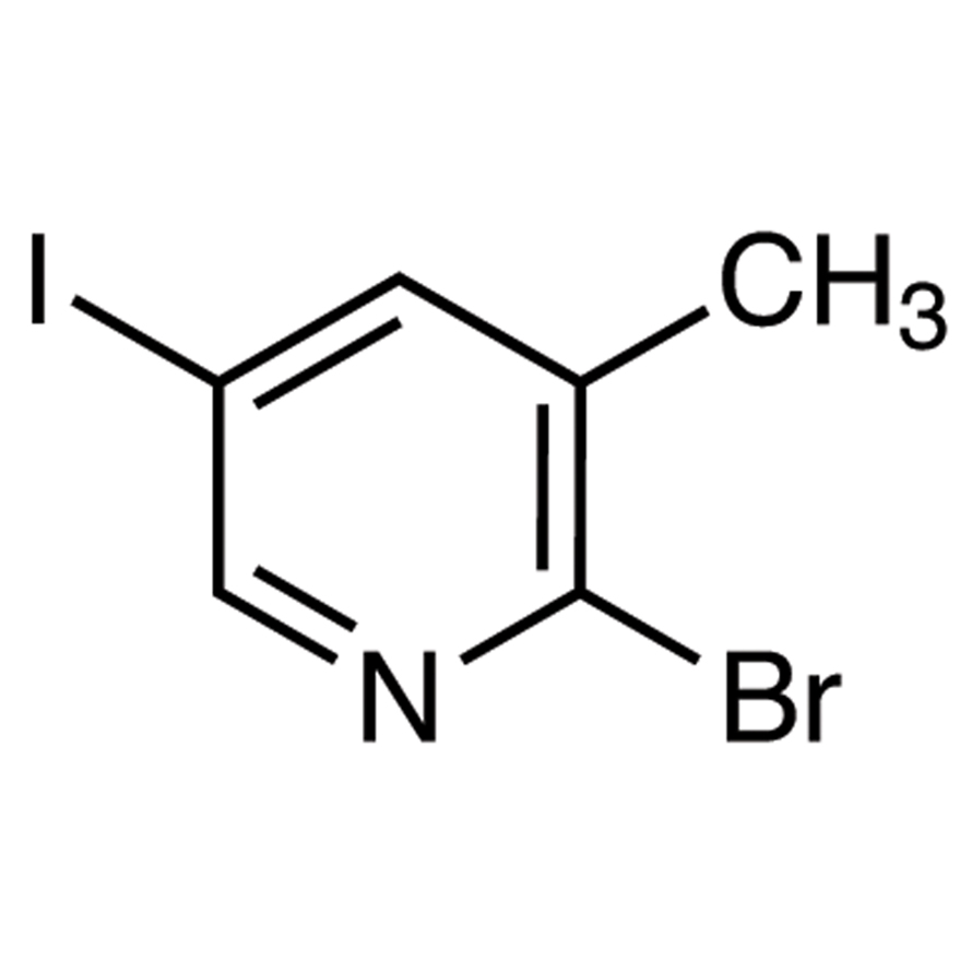 2-Bromo-5-iodo-3-methylpyridine