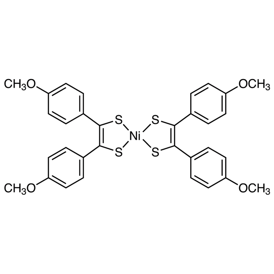 Bis[4,4'-dimethoxy(dithiobenzil)]nickel(II)