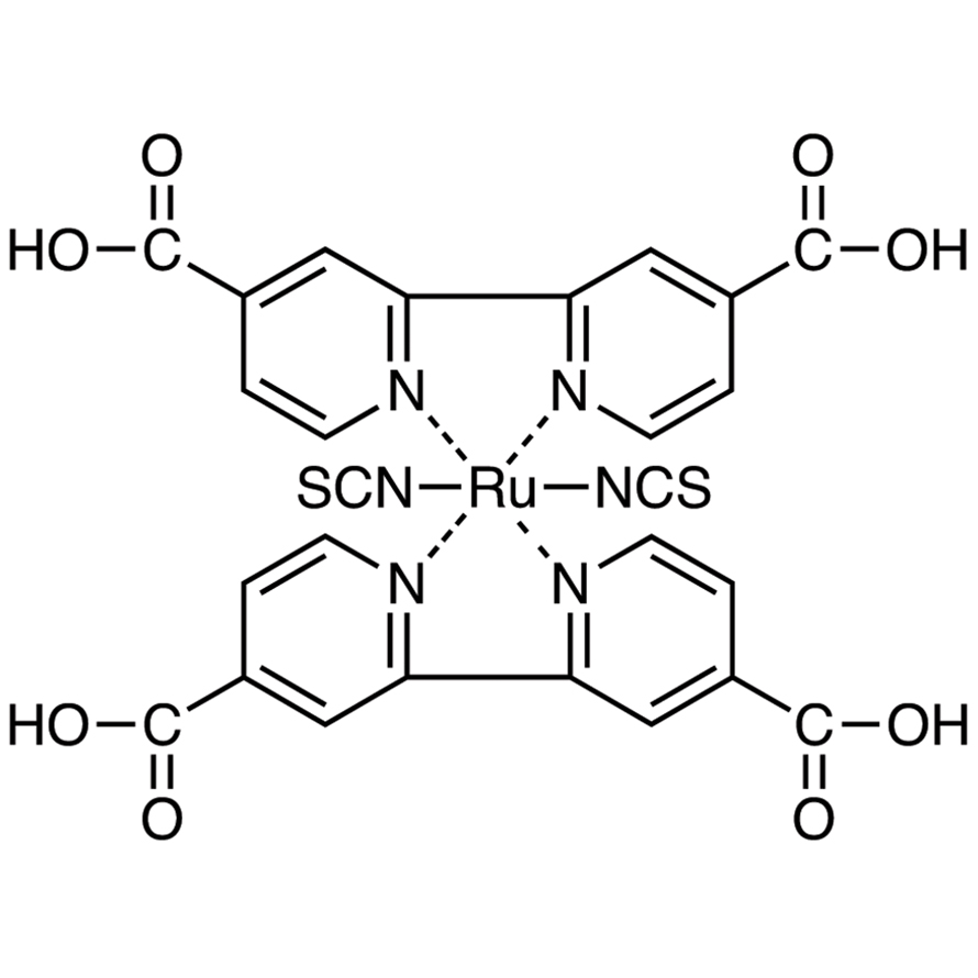 Bis(isothiocyanato)bis(2,2'-bipyridyl-4,4'-dicarboxylato)ruthenium(II)