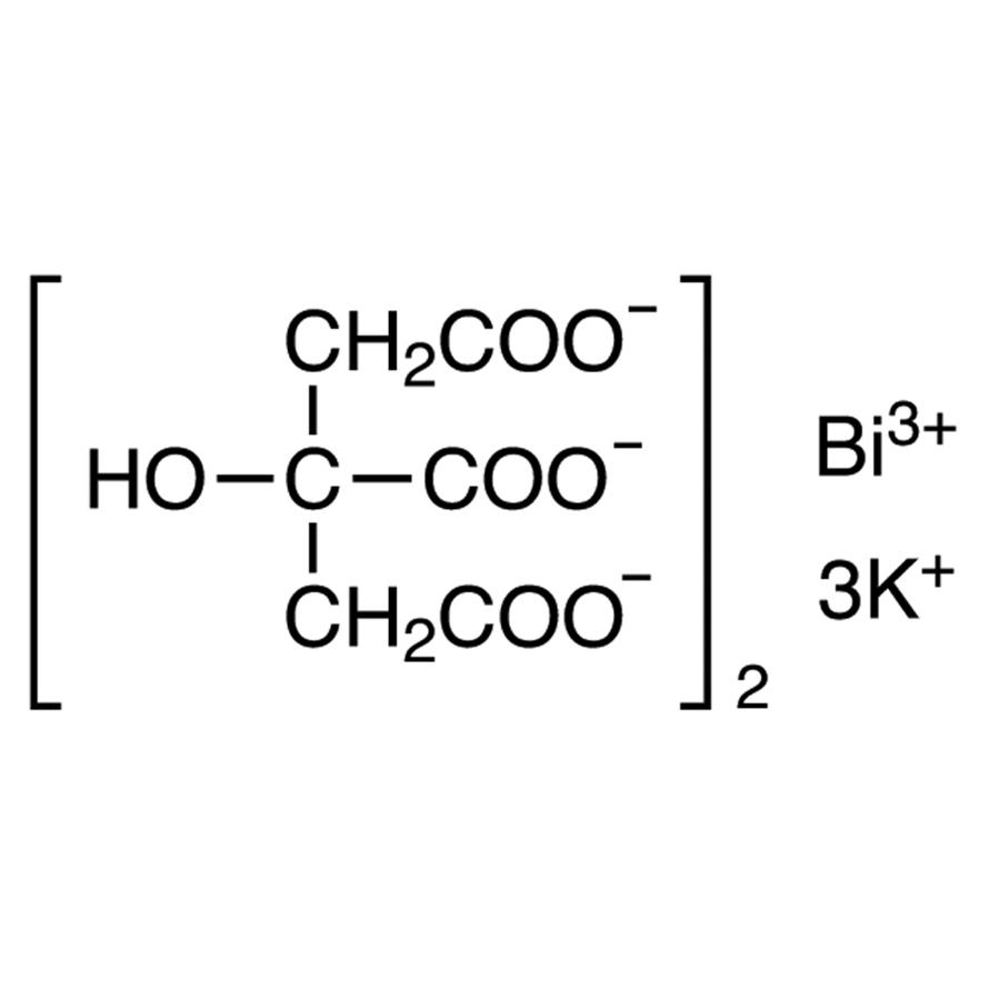 Bismuth Tripotassium Dicitrate