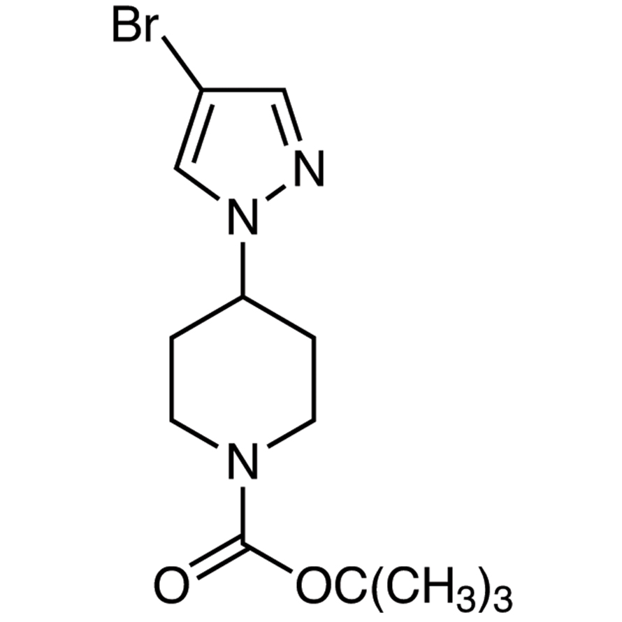 tert-Butyl 4-(4-Bromopyrazol-1-yl)piperidine-1-carboxylate