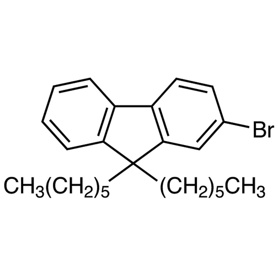 2-Bromo-9,9-dihexylfluorene