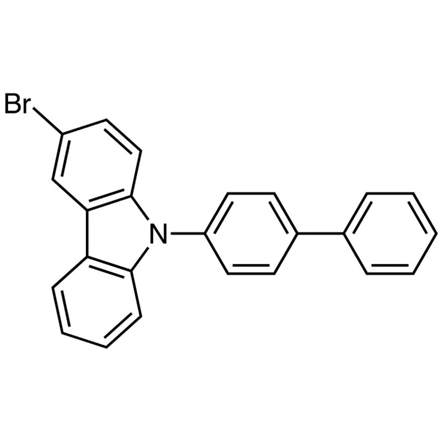 9-(4-Biphenylyl)-3-bromocarbazole