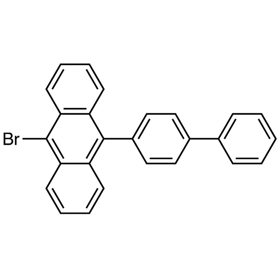 9-(4-Biphenylyl)-10-bromoanthracene