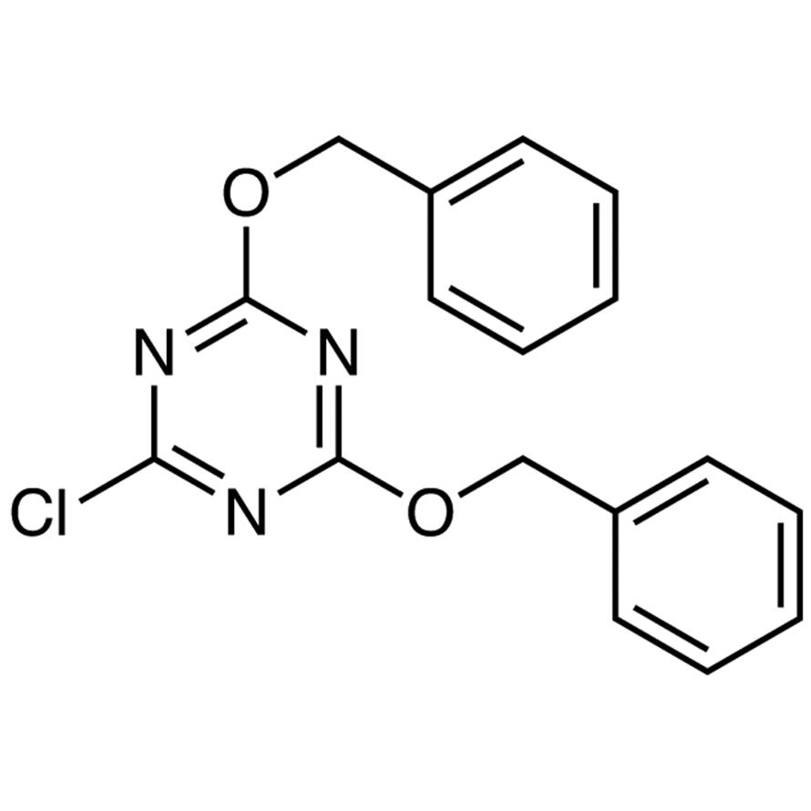 2,4-Bis(benzyloxy)-6-chloro-1,3,5-triazine