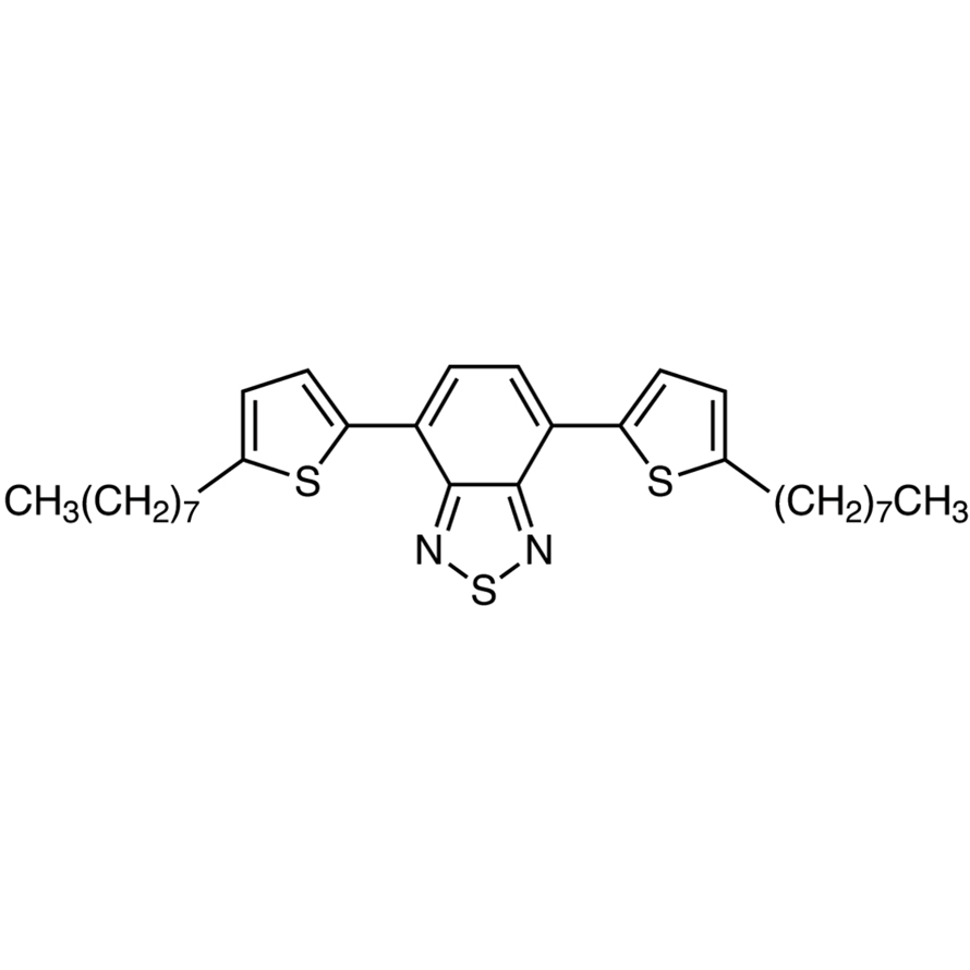 4,7-Bis(5-n-octyl-2-thienyl)-2,1,3-benzothiadiazole